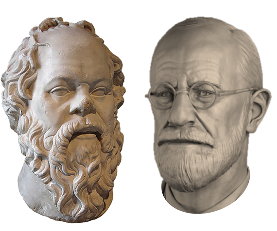 Socrates ontmoet Freud